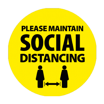 Please Maintain Social Distancing